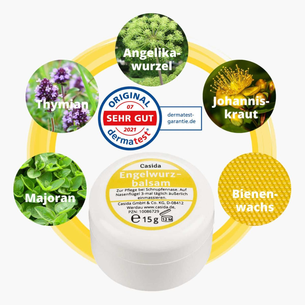 Angelica balm for babies and children 15 g 10086729 PZN pharmacy runny nose