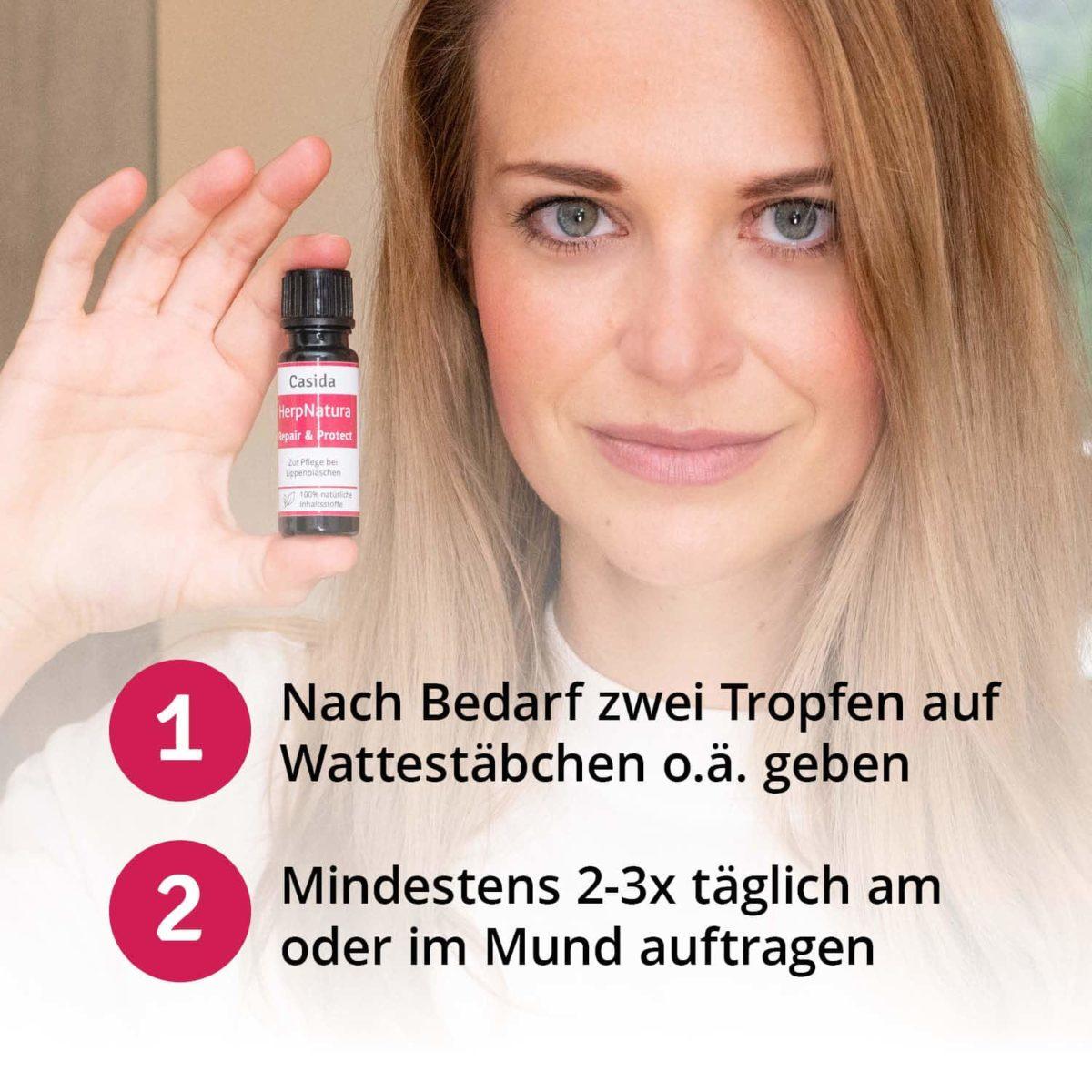 Casida HerpNatura Repair & Protect – 10 ml 10086698 PZN Apotheke Herpes Mundbläschen Lippenbläschen6