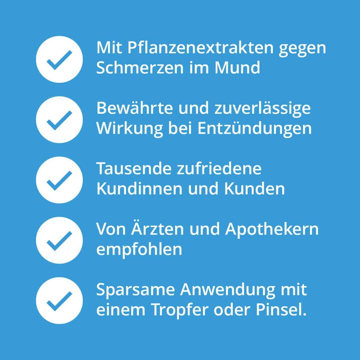Casida Mund-Gesund Fluid Repair & Protect 10 ml 10086681 PZN Apotheke Zahnfleischentzündung7