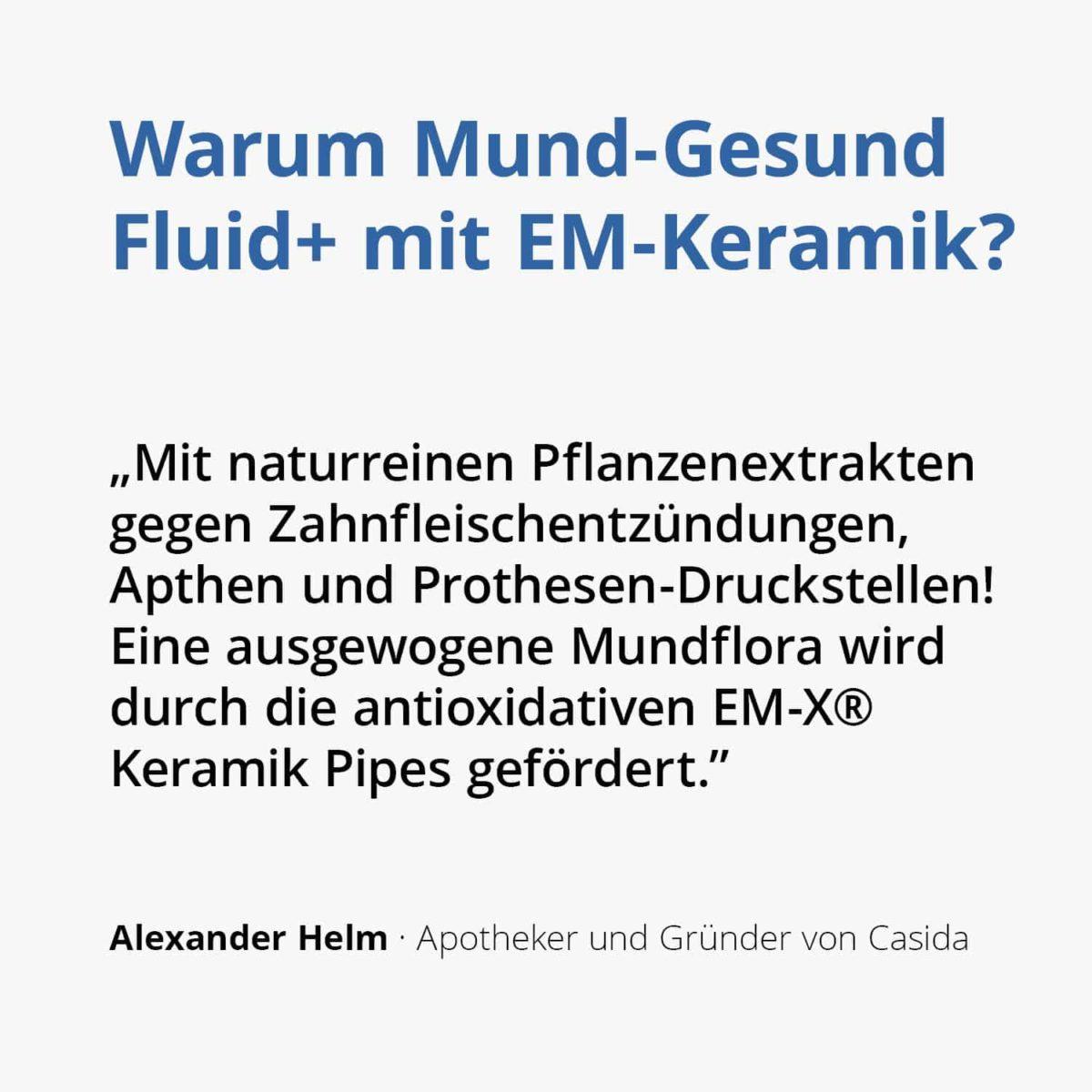 Casida Mund-Gesund Fluid+ mit EM-Keramik 10 ml 10527688 PZN Apotheke Zahnfleischbluten Aphten Schwangerschaft2