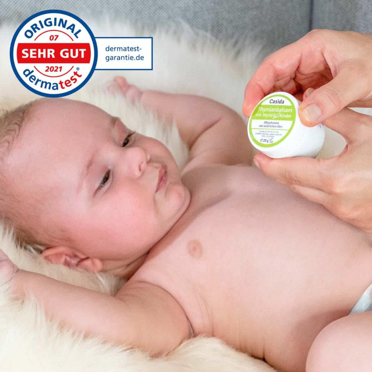 Casida Thyme Balm with Myrtle for Children 25 g 10209008 PZN Apotheke Husten Baby8