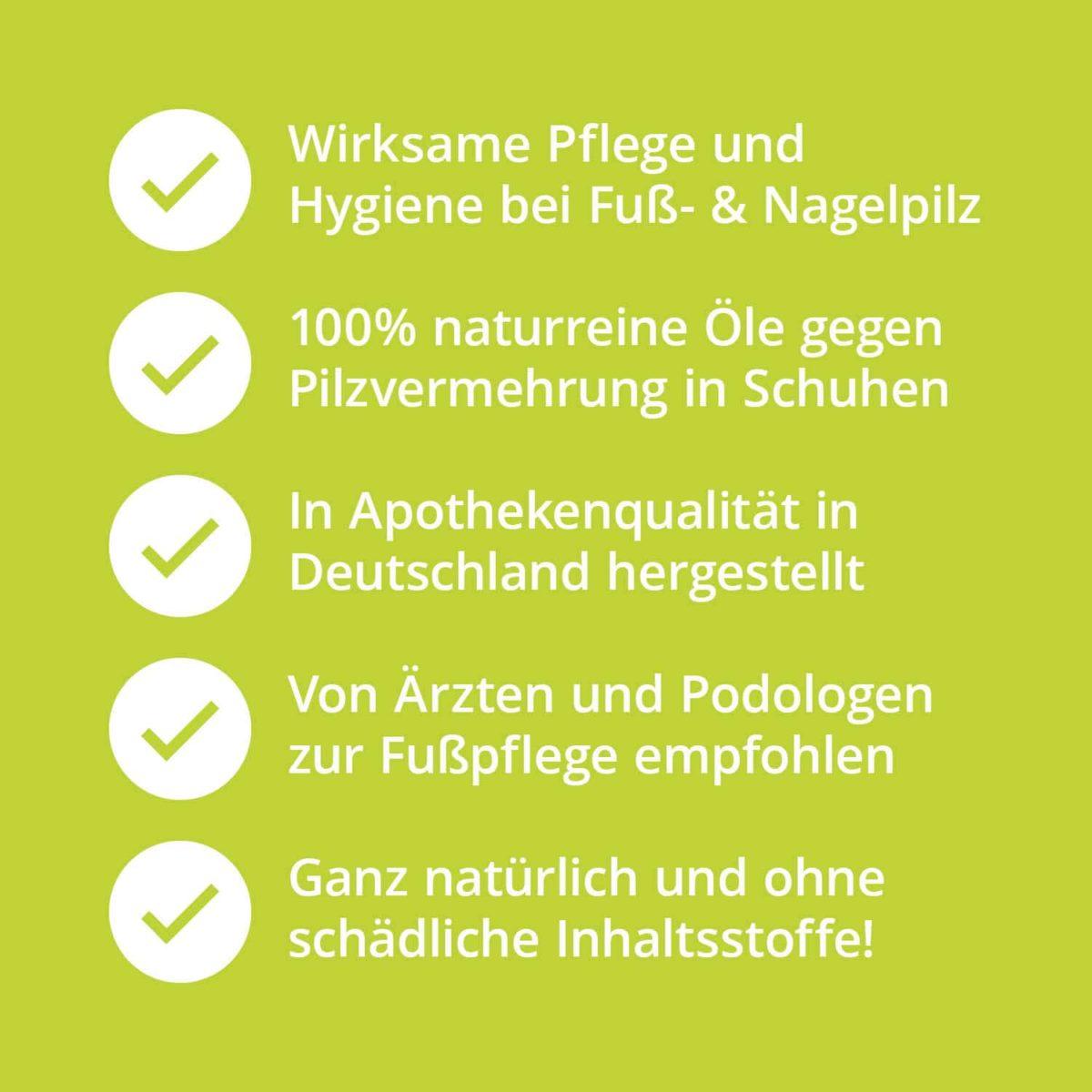Casida Foot and Shoe Deo BioFit Pflanzlich 100 ml 10751316 PZN Apotheke Nagelpilz Fußpilz Schweißfüße7