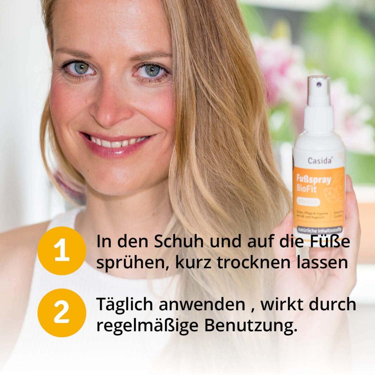 Casida Fußspray BioFit Pflanzlich 10751322 PZN Apotheke Nagelpilz Fußpilz6