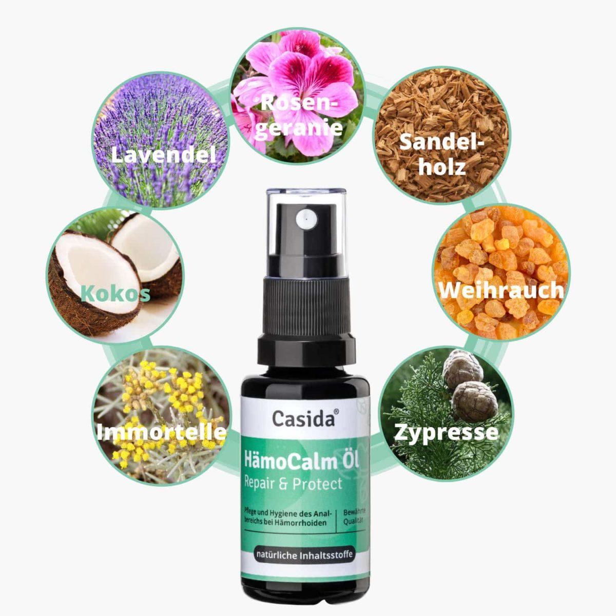 Casida HämoCalm Repair & Protect – 20 ml 10086675 PZN Apotheke hämorrhoiden hämmoritten hemoriden3