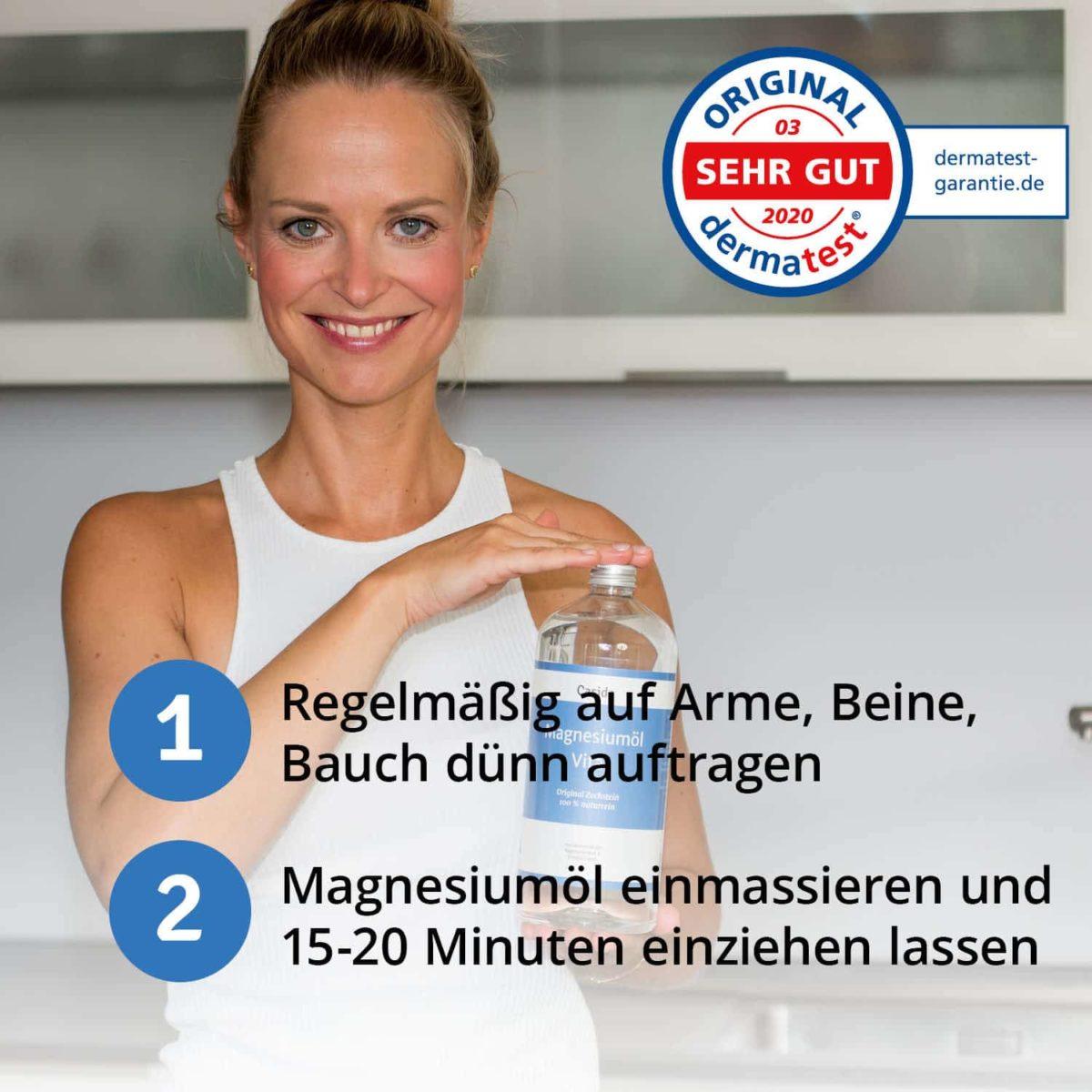 Casida Magnesiumöl Vital Zechstein 1000 ml 11730233 PZN Apotheke Nachfüllflasche Sport6