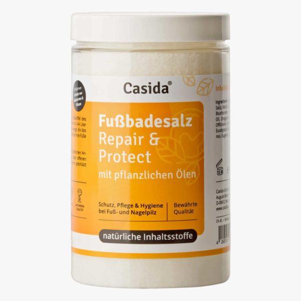 Casida Fußbadesalz Repair & Protect 375 g 12907018 PZN Apotheke Nagelpilz Fußpilz (1)