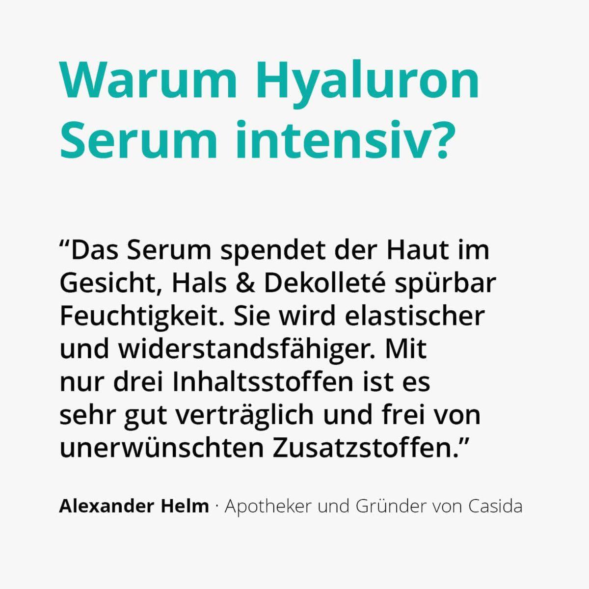 Casida Hyaluron Serum Intensiv – 30 ml 14044030 PZN Apotheke Microneedling2