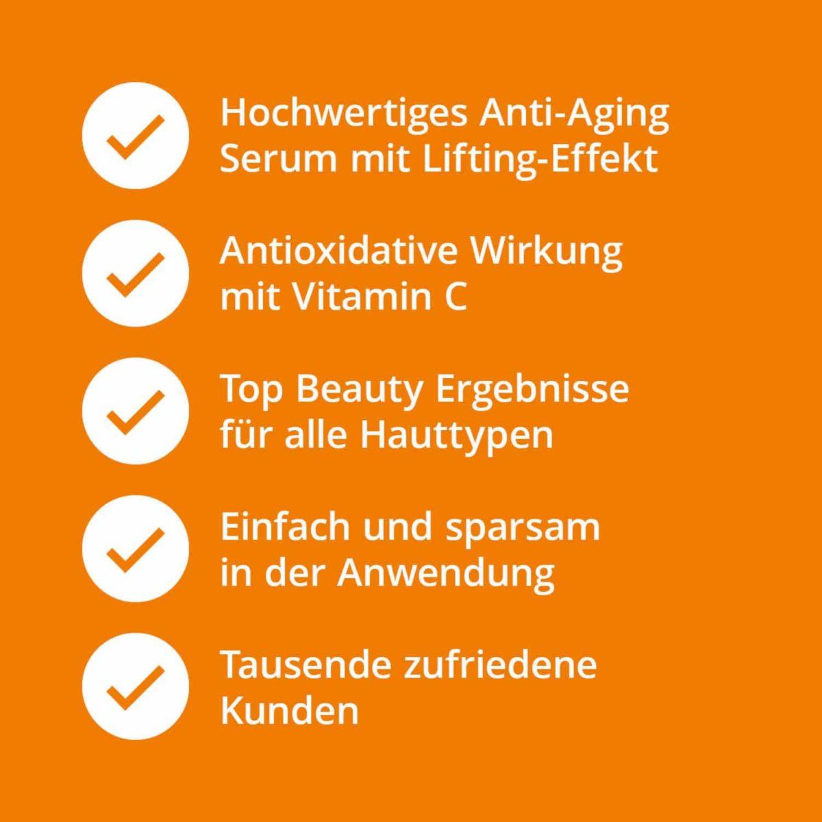 Casida Vitamin C Serum + Hyaluron – 30 ml 14044053 PZN Apotheke Antioxidantien Anti-Aging a (7)