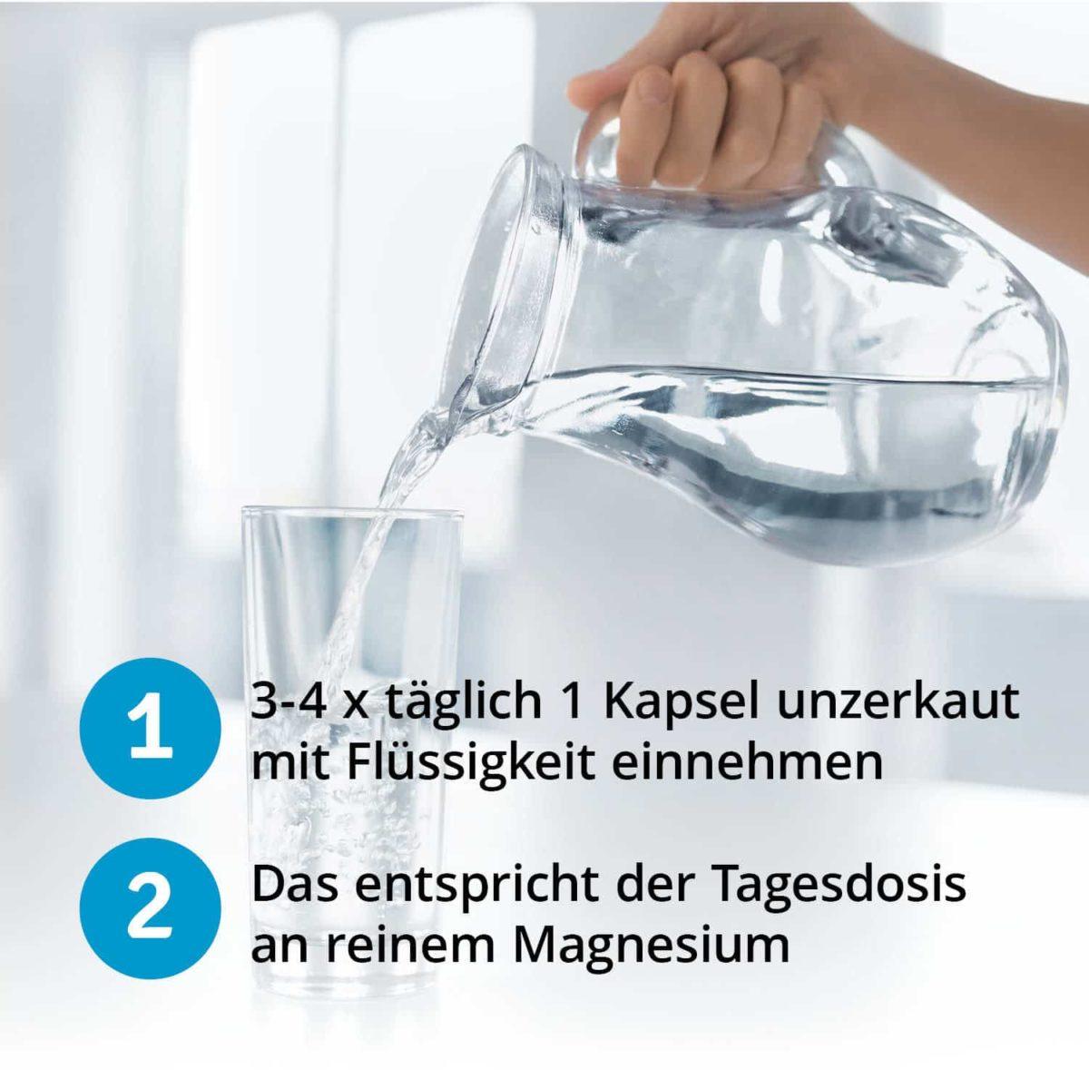 Casida Magnesiumcitrat Kapseln Vital – 120 Stk. 14362474 PZN Apotheke Muskelkater Muskelkrampf Sport6