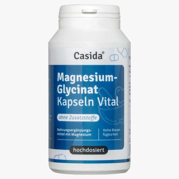 Magnesium Glycinate Capsules Vital – 120 Stk. 14362480 PZN Apotheke Bioverfügbarkeit organisches Magnesium