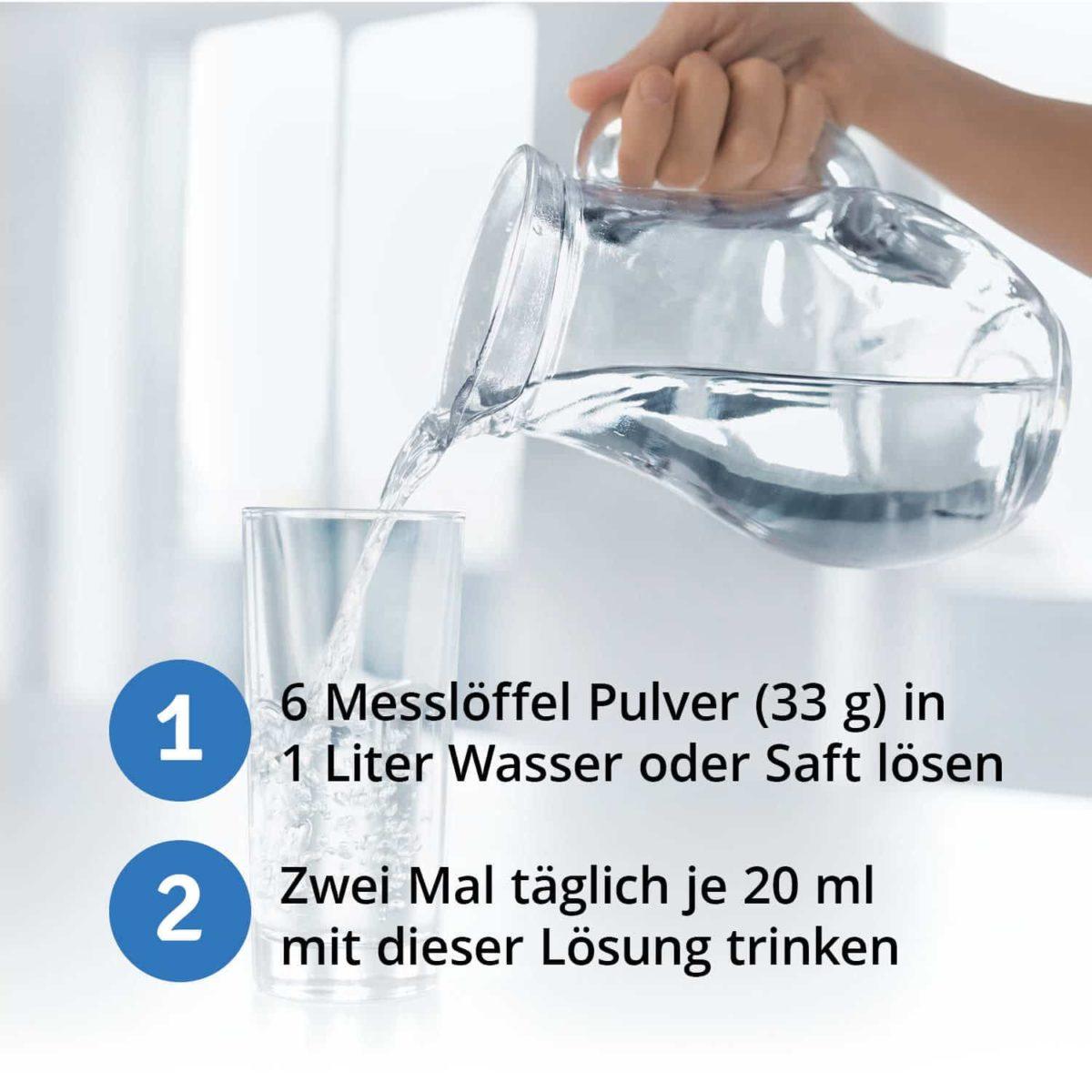 Casida Magnesiumchlorid zum Einnehmen Trinken Zechstein 210 g 15190615 PZN Apotheke Saft Wasser Bioverfügbarkeit6