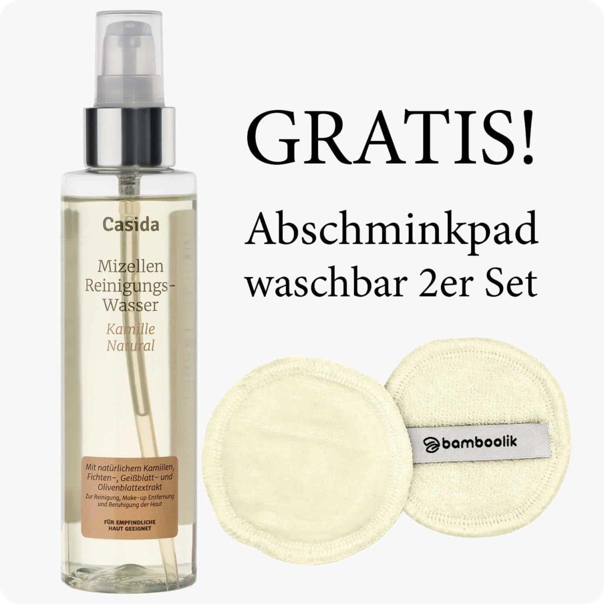 Casida Mizellenwasser Kamille Natural – 150 ml 15408238 PZN Apotheke Abschminken Make-up pflanzlich