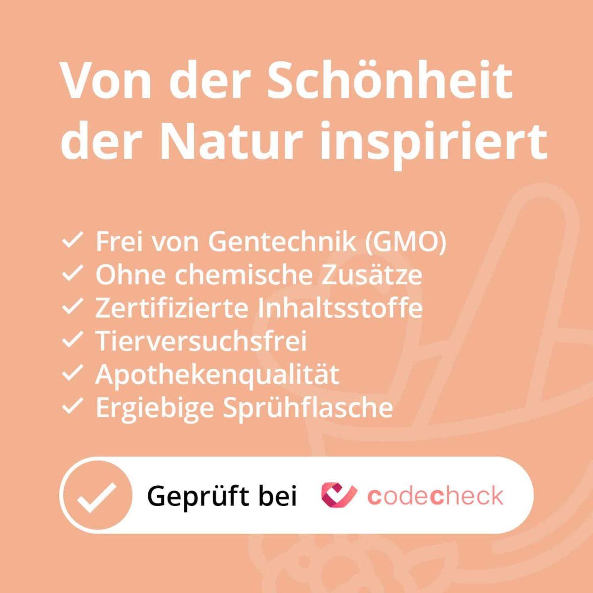 Casida Mizellenwasser Kamille Natural – 150 ml 15408238 PZN Apotheke Abschminken Make-up pflanzlich5