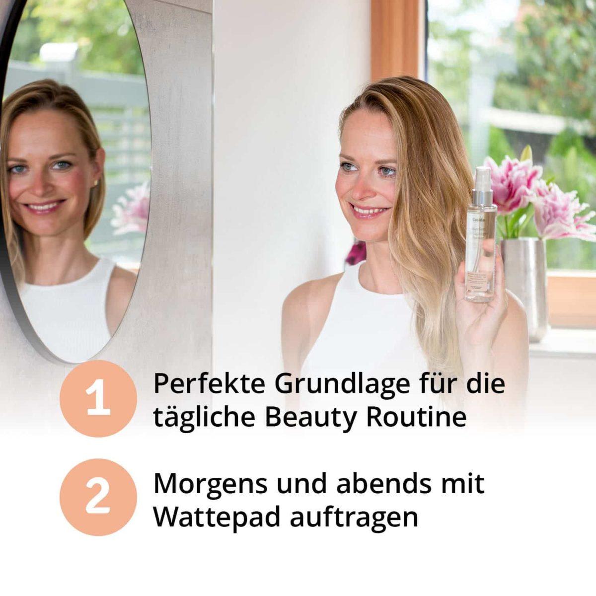 Casida Mizellenwasser Kamille Natural – 150 ml 15408238 PZN Apotheke Abschminken Make-up pflanzlich6