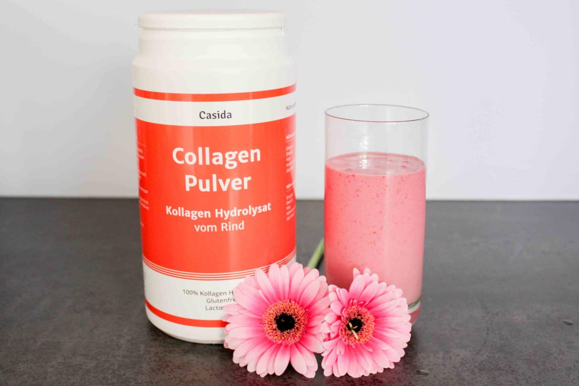 Casida Collagen-Rezept-Smoothie