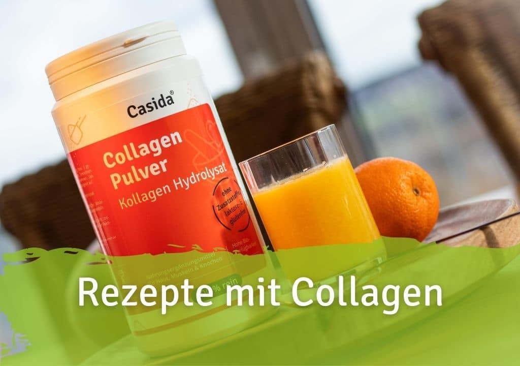 Rezepte mit Collagen Casida Collagen Pulver Kollagen Hydrolysat Peptide Rind – 480 g 15266086 PZN Apotheke Peptide Typ I II III Eiweiß Shake trinken Gelenke Anti-Aging