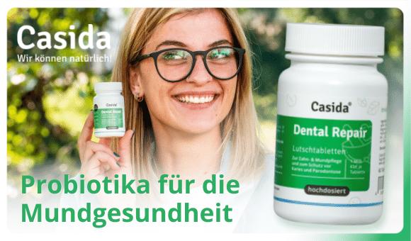 Probiotika für die Mundflora gegen trockenen Mund