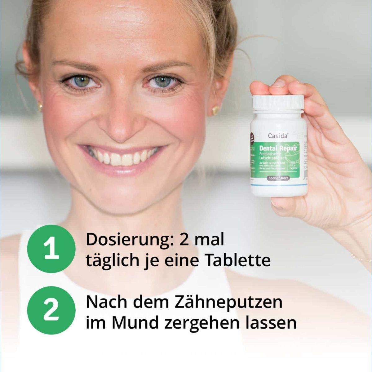 Casida Probiotika Duo Set Dental Repair Lutschtabletten PZN Apotheke DE 14401553 Zahnpflege (6)
