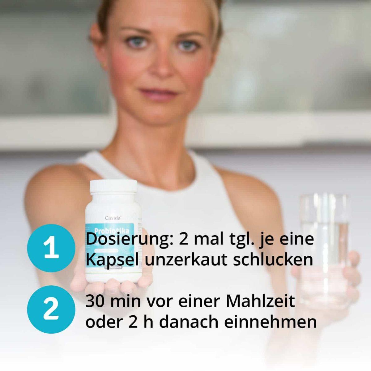 Casida Probiotika Duo Set + Inulin – 120 Stk. 14446656 Darmsanierung (5)