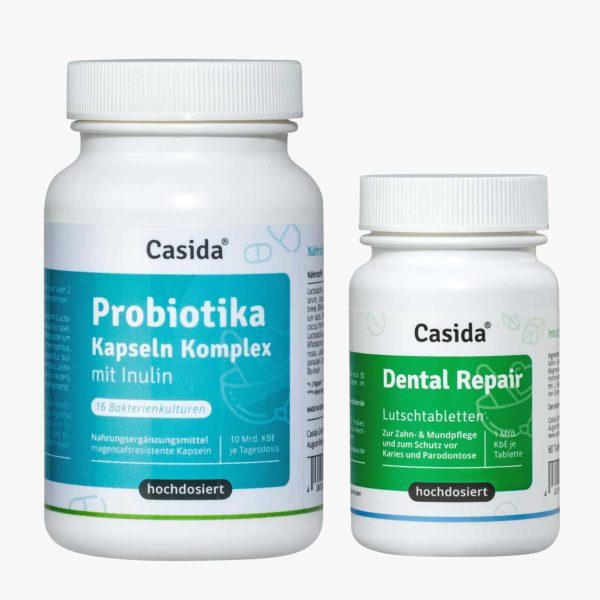 Casida Probiotika Kapseln Komplex + Inulin – 120 Stk. 14446656 Dental Repair 14401553 PZN Apotheke Darmflora Mundflora