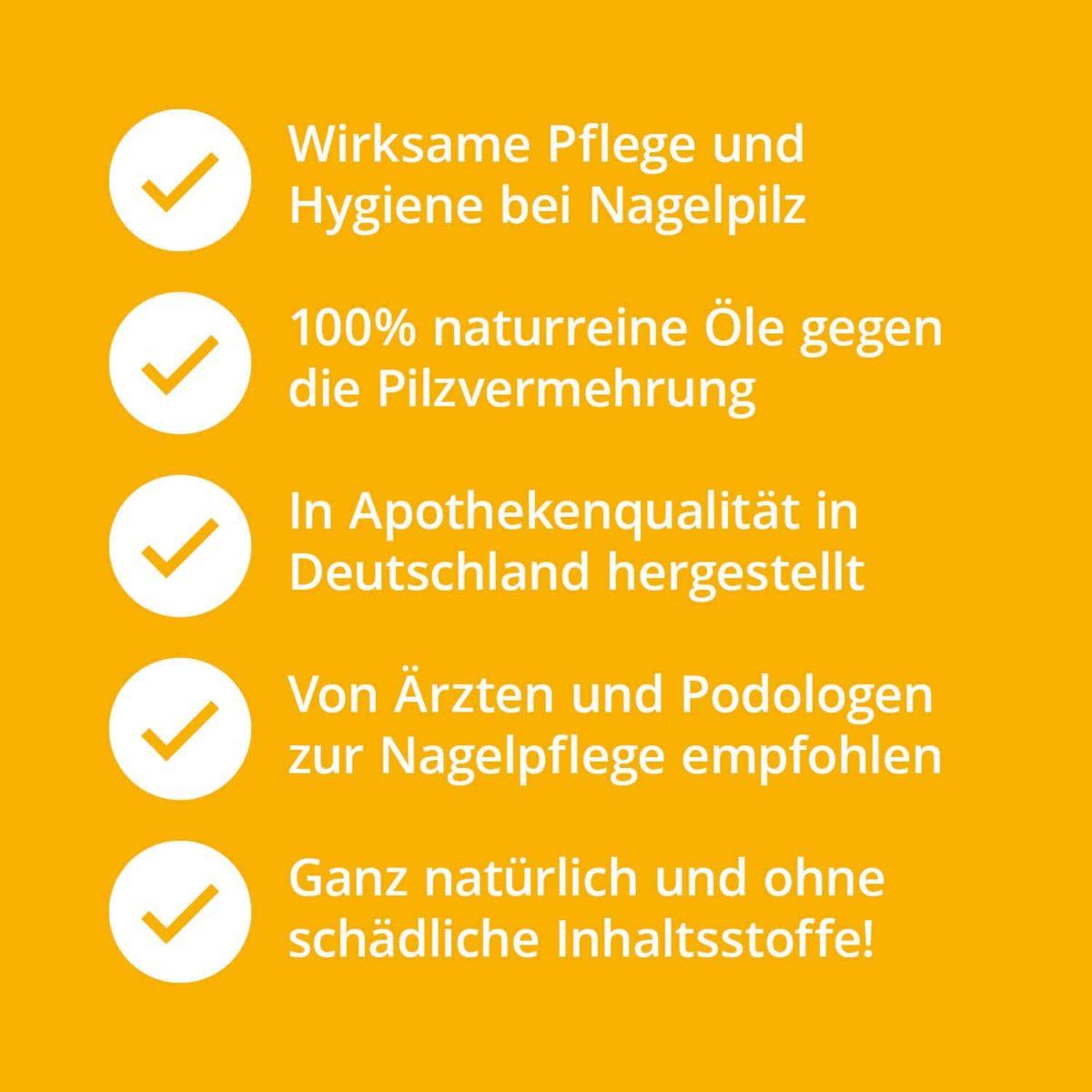 Casida Set 5 +1 Nagelöl Repair & Protect 10 ml PZN 10022445 Apotheke Nagelpilz Füße Hände (7)