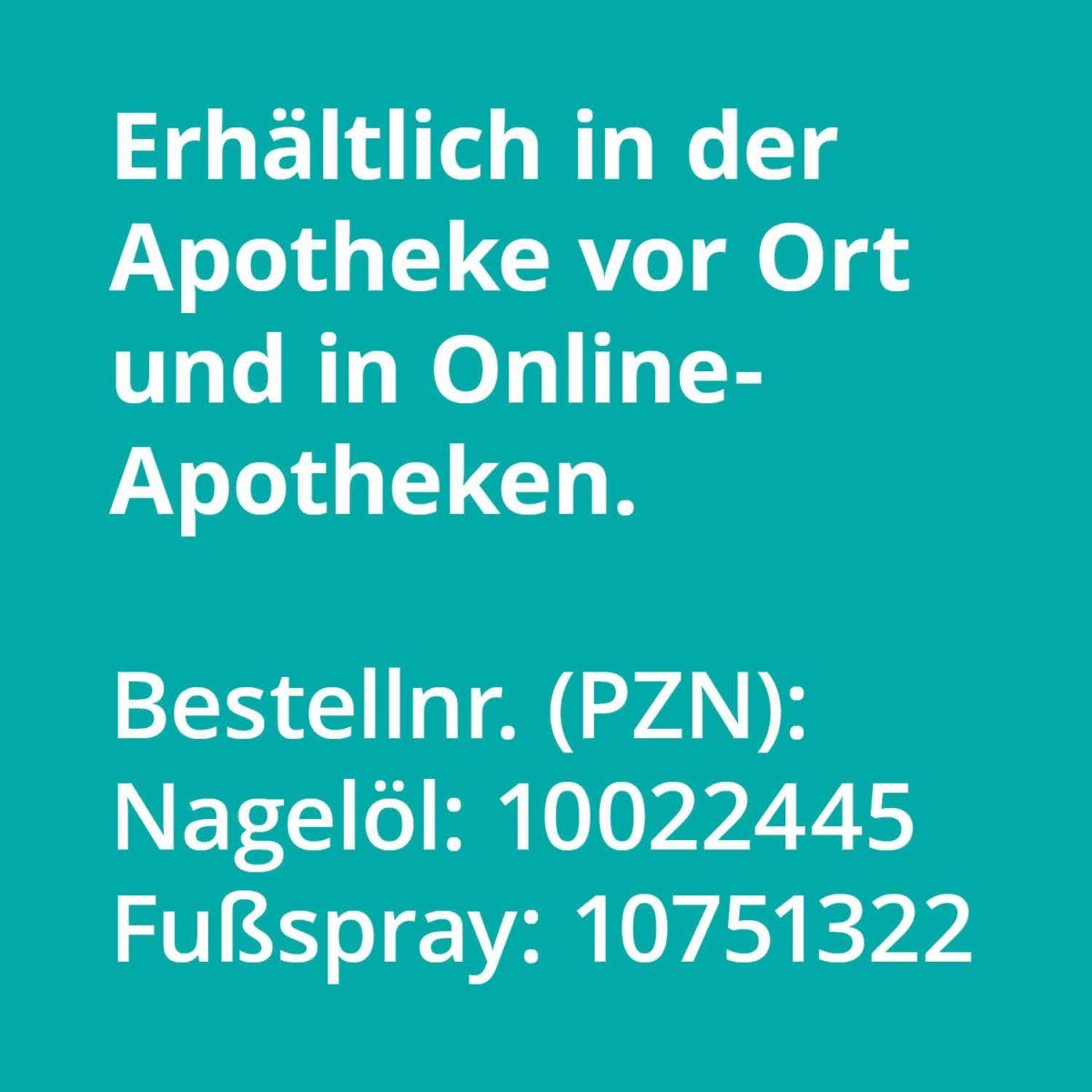 Casida Set Apotheke Nagelöl Fußspray Rabatt Bundle PZN 10022445 10751322 Nagelpilz pflanzlich Natürlich Gesundheitsprodukte9