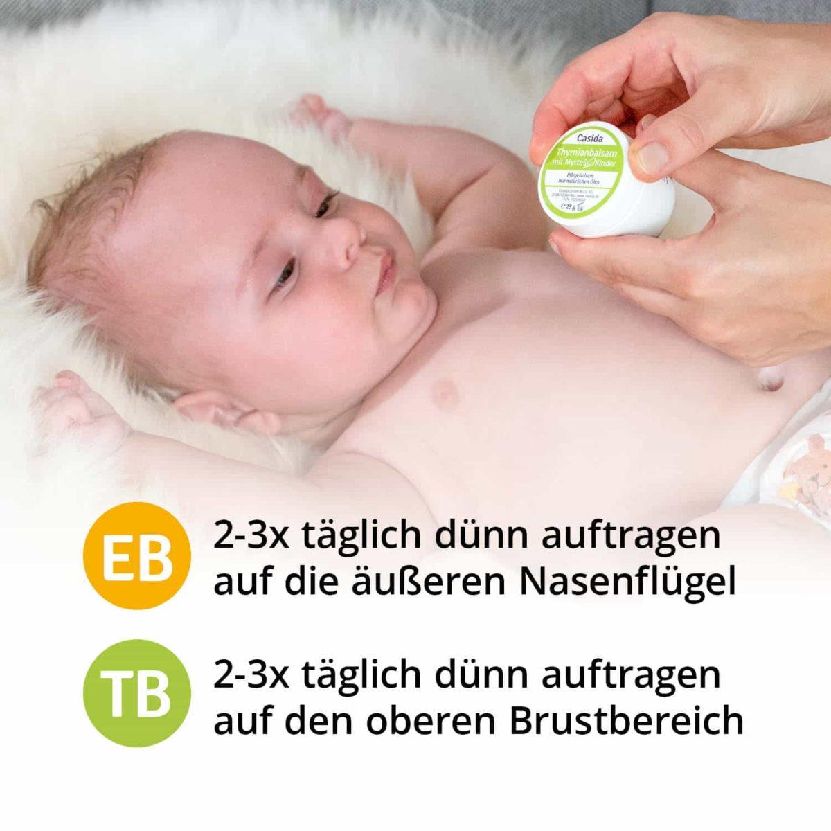 Casida Set Engelwurzbalsam Thymianbalsam mit Myrte Kinder 10209008 10086729 PZN Apotheke Erkältung Baby pflanzlich behandeln6