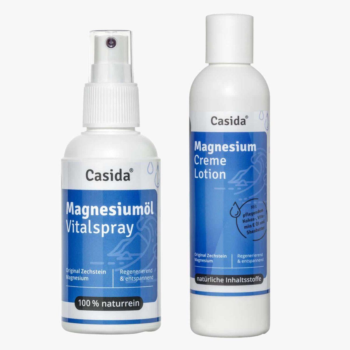 Casida Set PZN 10086741 12902245 Apotheke Vorteilsset Rabatt Bundle Magnesium Natürlich Gesundheitsprodukte Regeneration Hautpflege