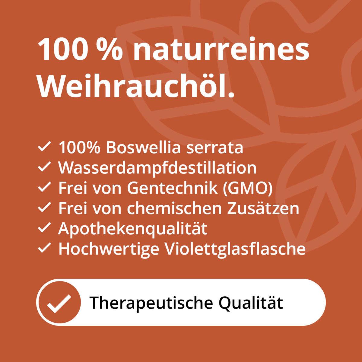 Casida Weihrauchöl Boswellia serrata naturrein – 10 ml 15880780 PZN Apotheke ätherische Öle Diffuser Meditation Wundheilung5