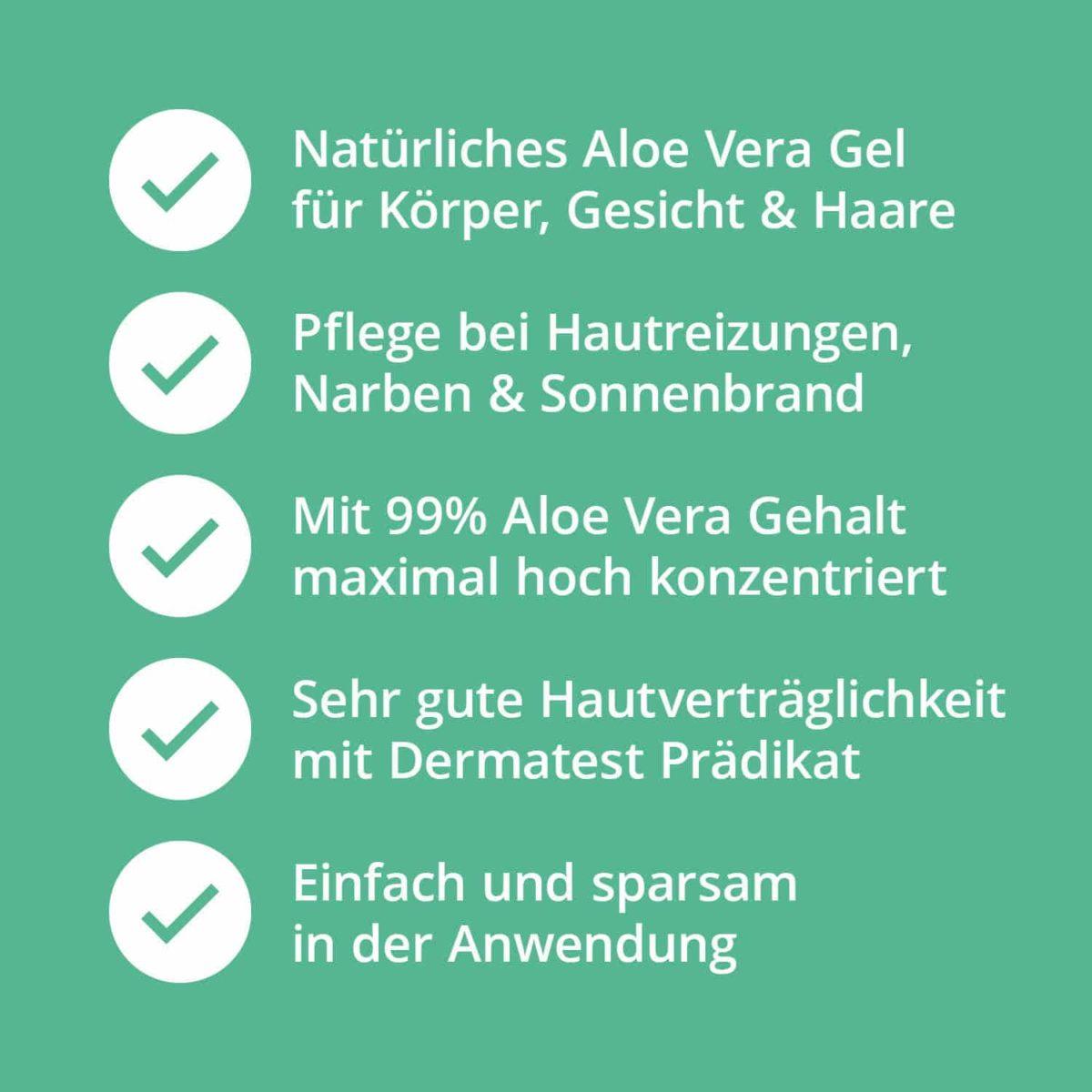 Casida Aloe Vera Gel Haut & Haare 16573212 PZN Apotheke Hautpflege After Sun (7)