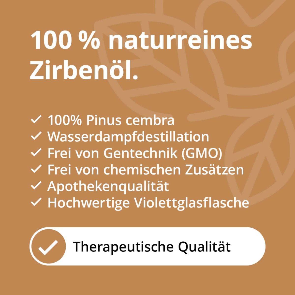 Casida Zirbenöl Pinus cembra naturrein – 10 ml 16486743 PZN Apotheke Zirbelkiefernöl ätherische Öle Diffuser5