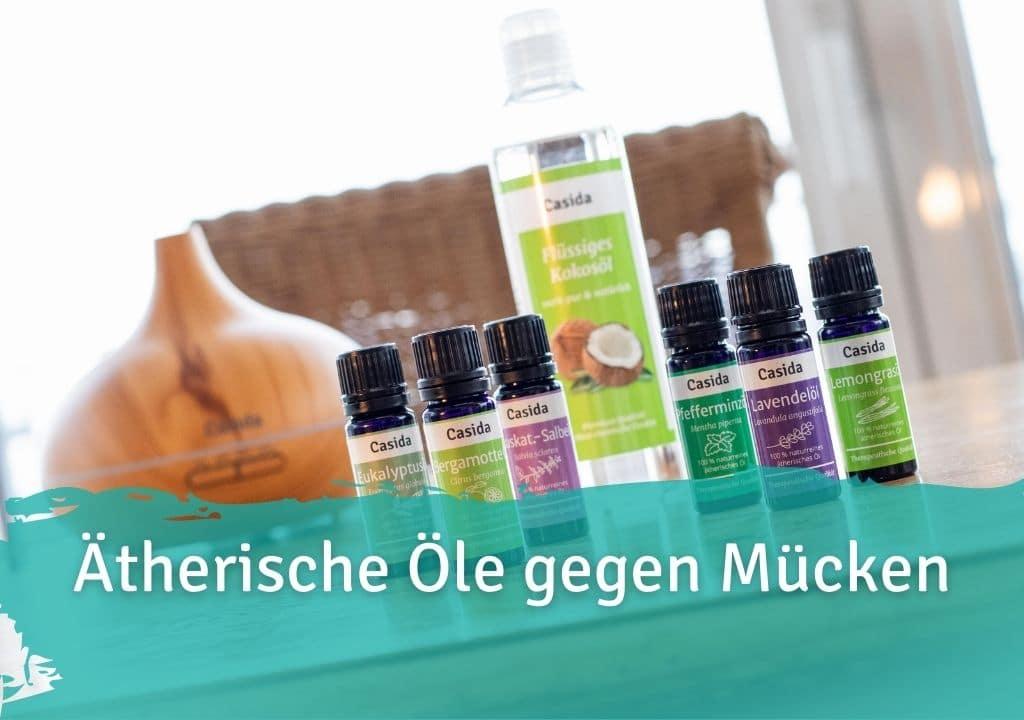 Ätherische Öle gegen Mücken Casida naturreines ätherische Öl