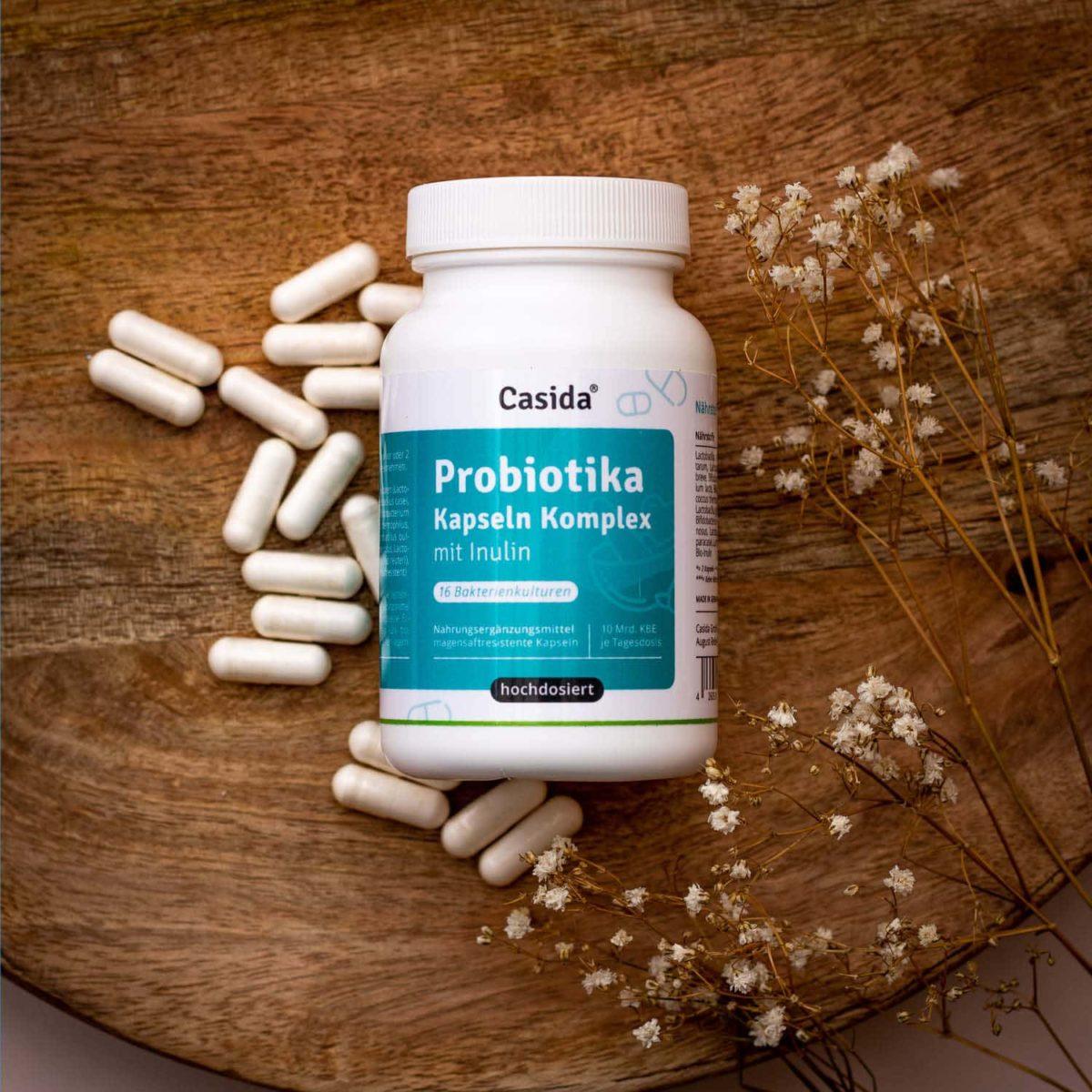 Casida Probiotika Kapseln Komplex + Inulin – 120 Stk. 14446656 PZN Apotheke Darmflora Darmmikrobiota Darmsanierung8