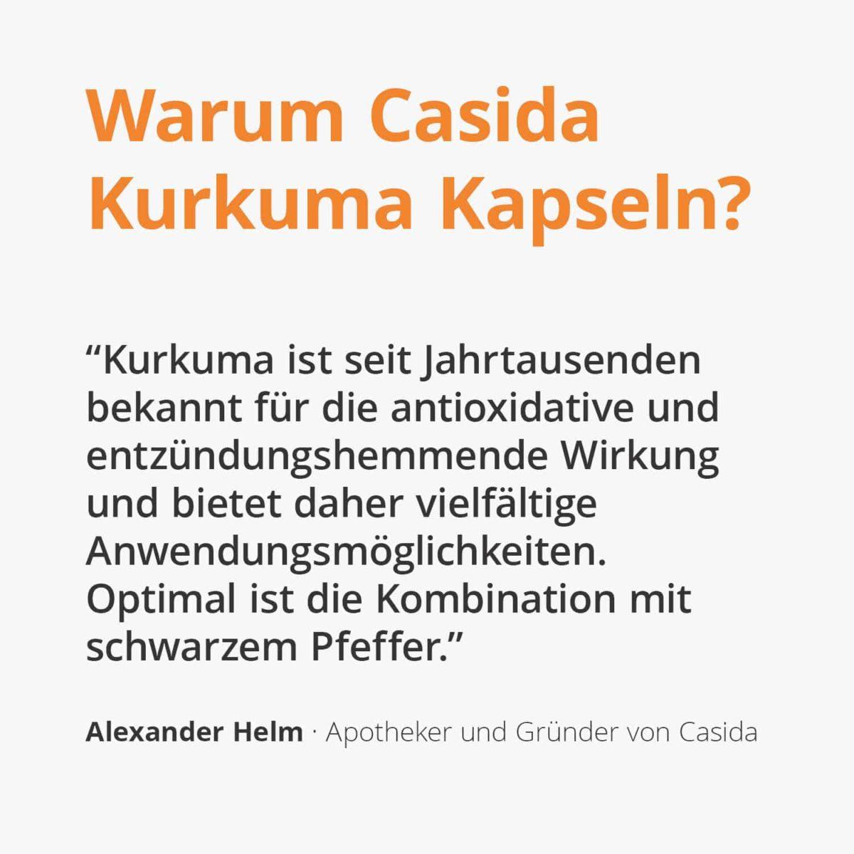 Casida Kurkuma Kapseln – 58 g 16671995 PZN Apotheke Schwarzer Pfeffer Nahrungsergänzung 2 (2)