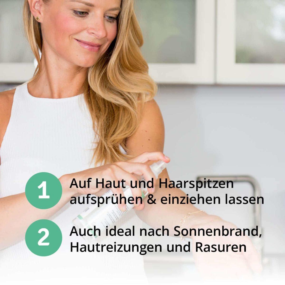 Casida Aloe Vera Spray Haut & Haare 16813047 PZN Apotheke Hautpflege Feuchtigkeitsspendend Sonnenbrand Rasur Hautreizungen6
