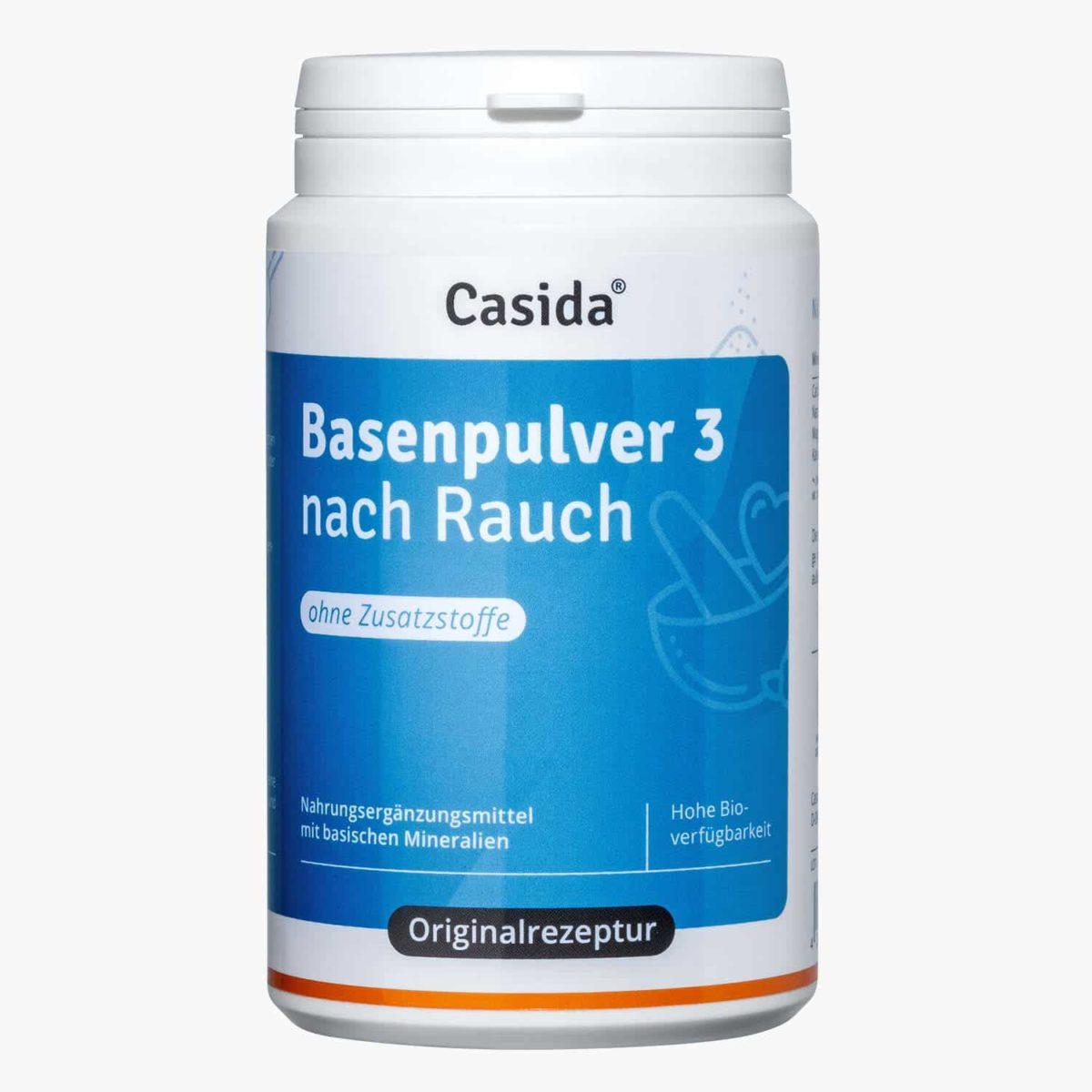 Casida alkaline powder 3 nach Rauch – 200 g 11058942 PZN Apotheke basisch Säure Basen Kur