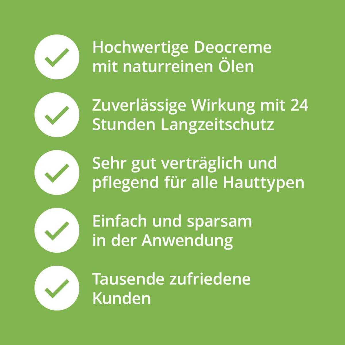 Casida Deocreme ohne Aluminium Natural 15586402 PZN Apotheke Achselschweiß Körpergeruch Deo Natron