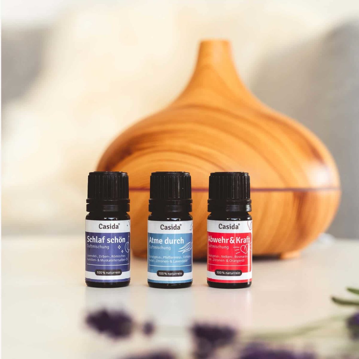 Casida Duftmischung Atme durch - 5 ml 16913317 PZN Apotheke Belebend Aromatherapie Aromapflege Reinigung Corona Mund Nasen Schutz