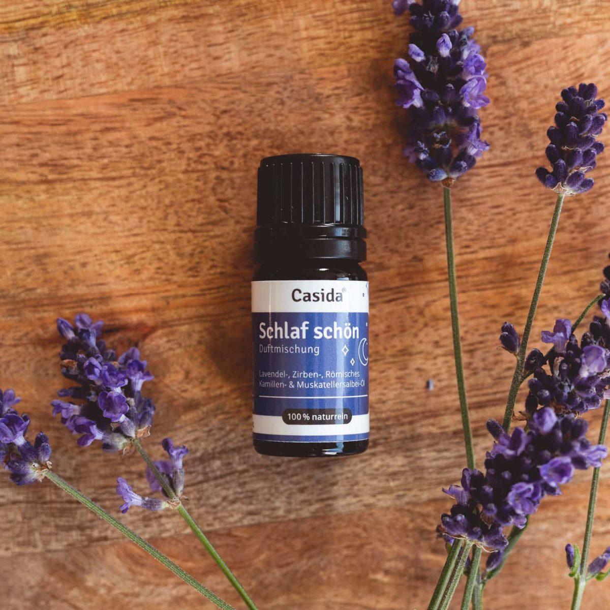 Casida Sweet Dream Aroma-Blend Schlaf schön - 5 ml PZN Apotheke 16913346 Besser Einschlafen Aromatherapie Aromapflege Entspannung Beruhigung