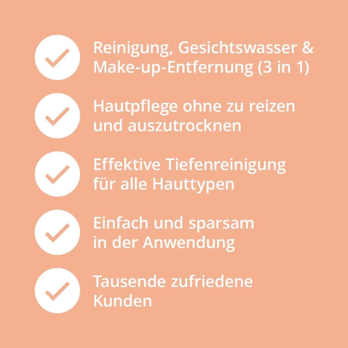 Casida Mizellenwasser Kamille Natural – 150 ml 15408238 PZN Apotheke Abschminken Make-up pflanzlich9