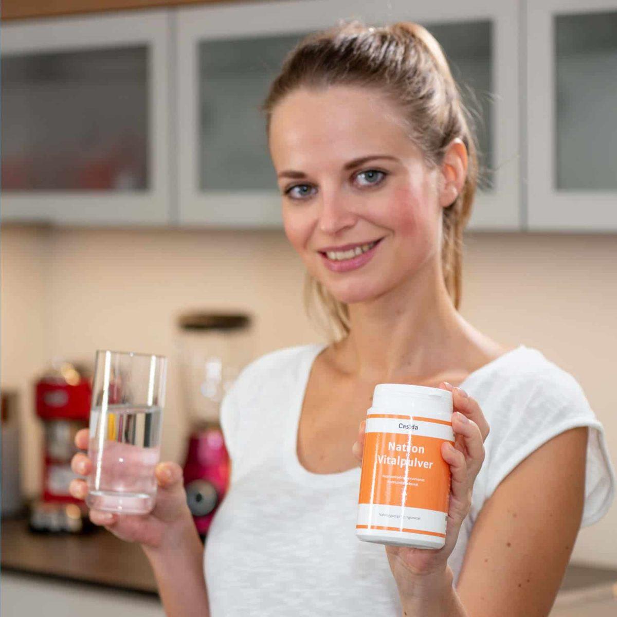 Casida Natron Vital Powder – 300 g 12464638 PZN Apotheke Basenkur trinken Lebensmittel8