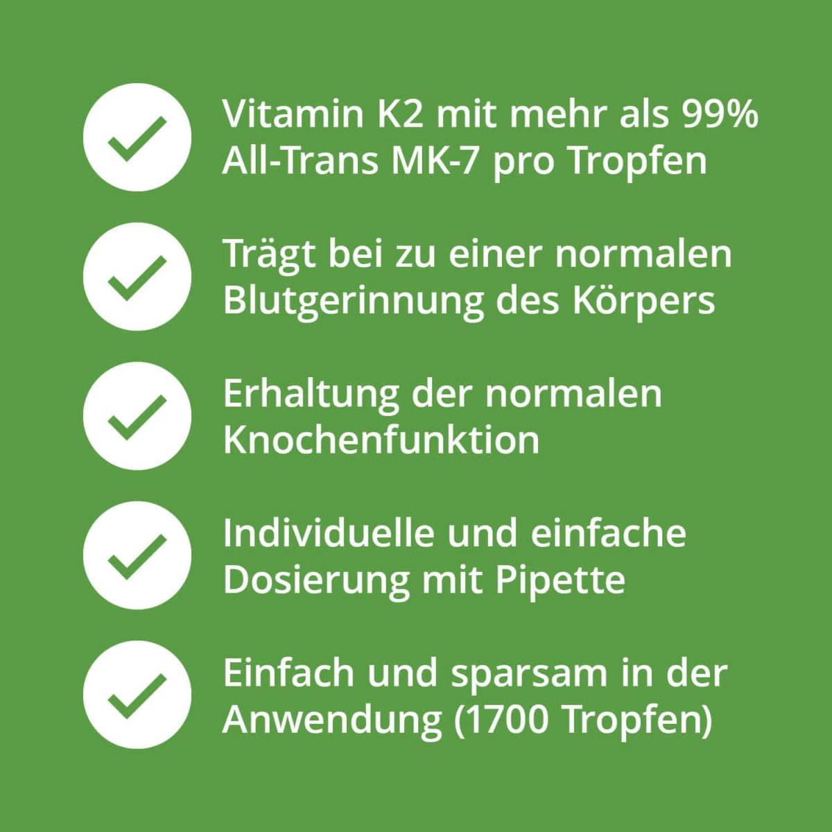 Casida Vitamin K2 Tropfen 20 μg MK7 vegan – 50 ml 16672049 PZN Apotheke Veganer7