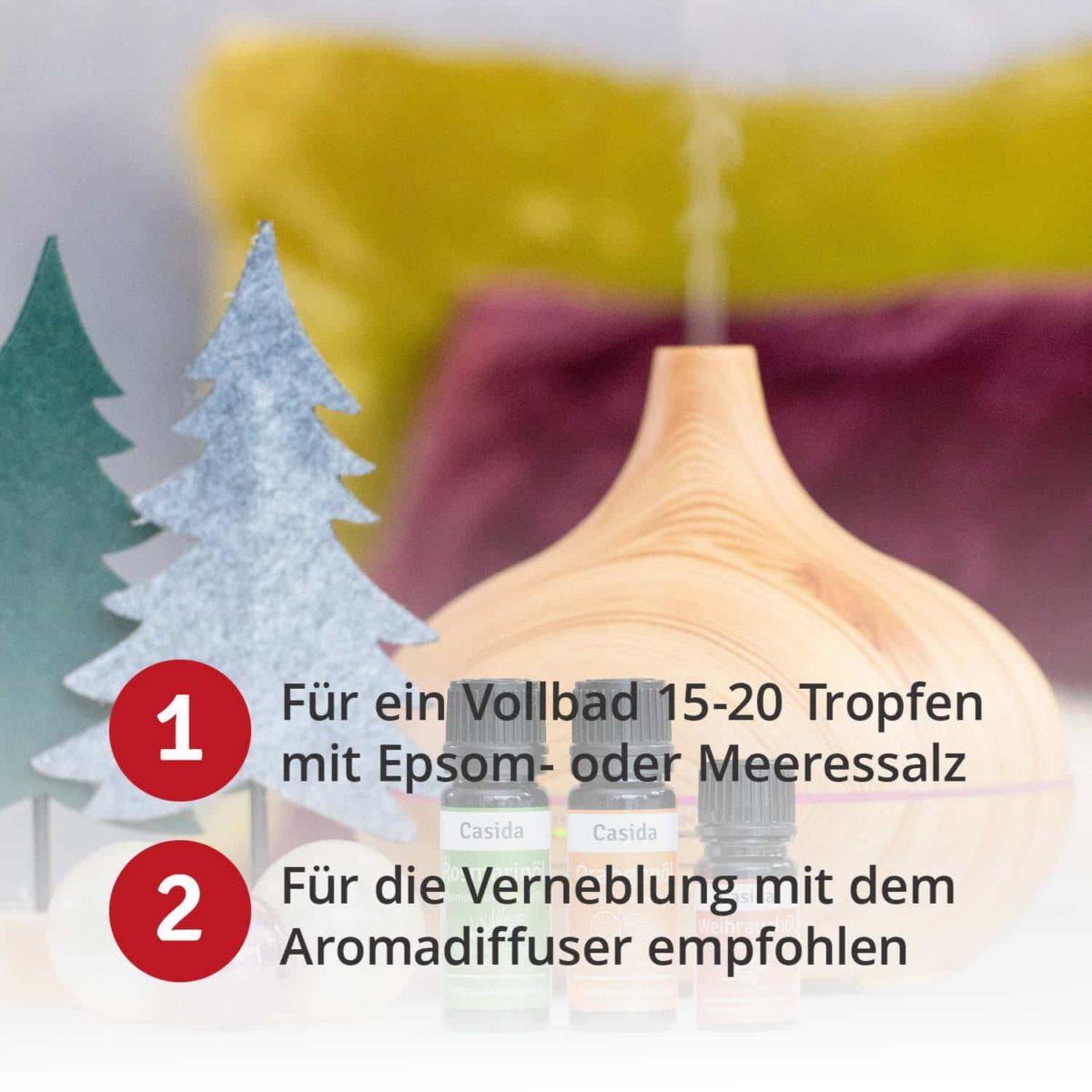 Casida Weihnachtsduft Frohes Fest - 10 ml 16852194 Ätherisches öl naturrein Orange Fichte Zimt Weihnachtsland6