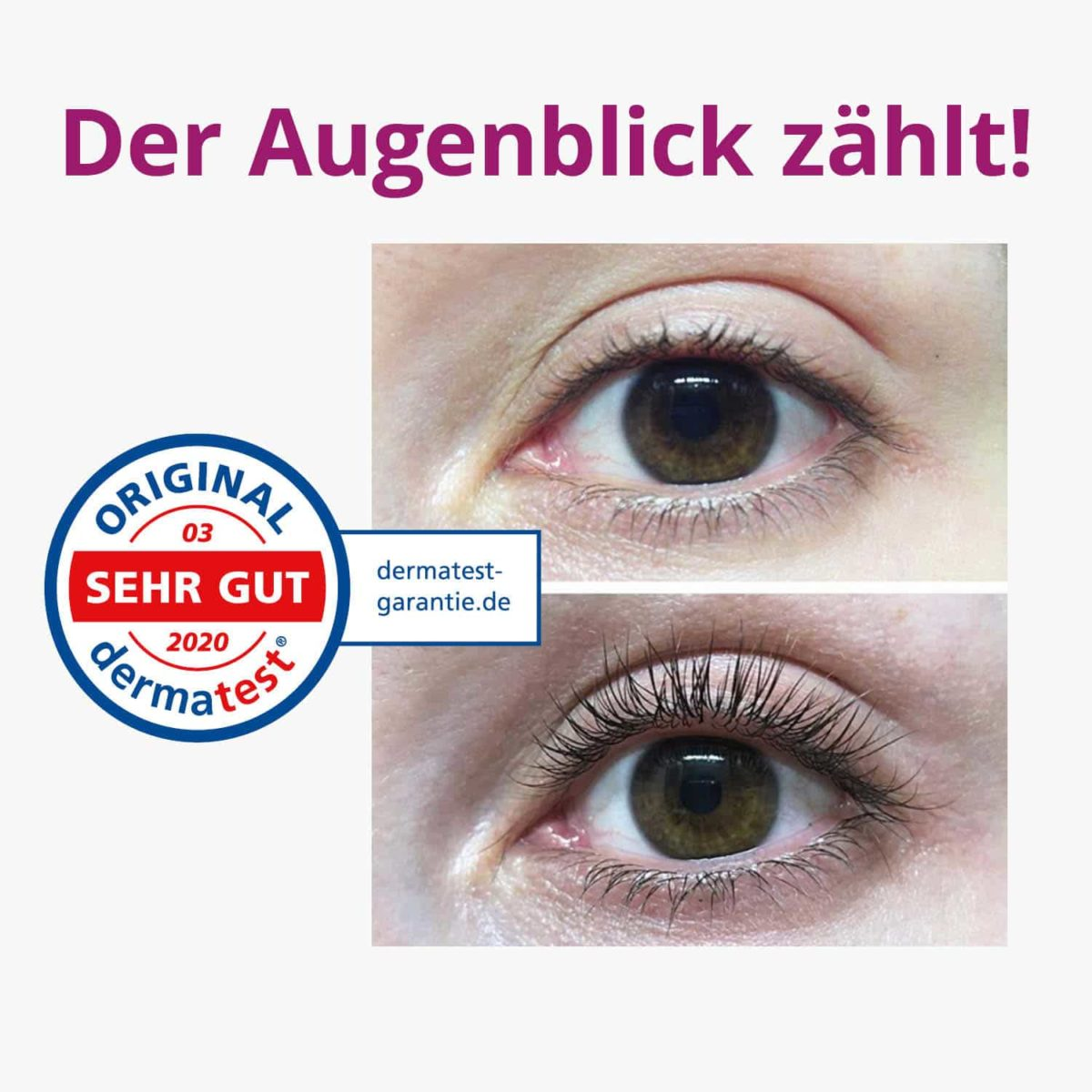 Casida Eyelash Serum Natural Booster – 30 ml 14386090 PZN Apotheke Wimpernserum pflanzlich8