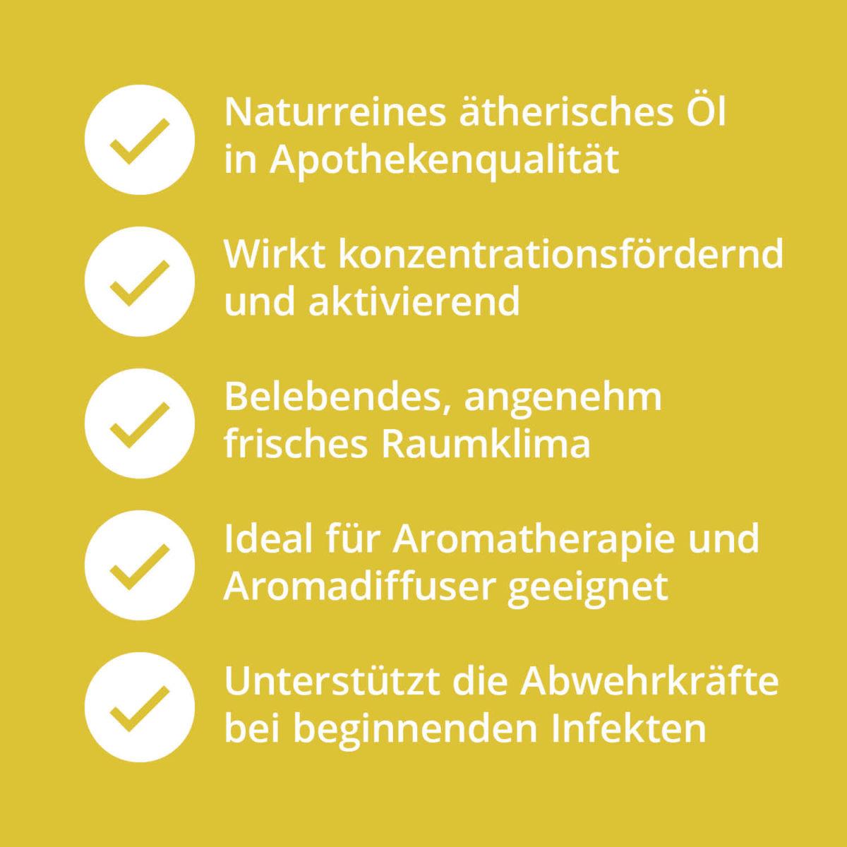 Casida Natural Pure Lemon Peel Oil – 10 ml 15880797 PZN Apotheke ätherische Öle Diffuser8