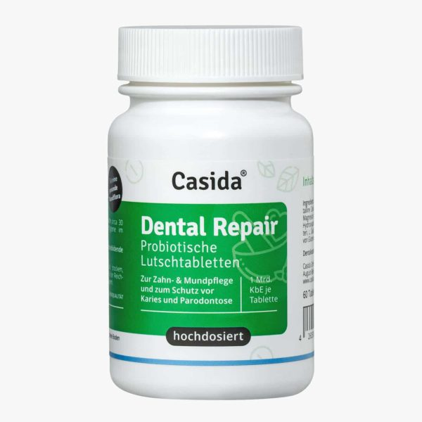 Casida Dental Repair Lozenges  – 60 Stk. 14401553 PZN Apotheke Karies Zahnpflege Parodontose