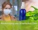 Self-made mask spray