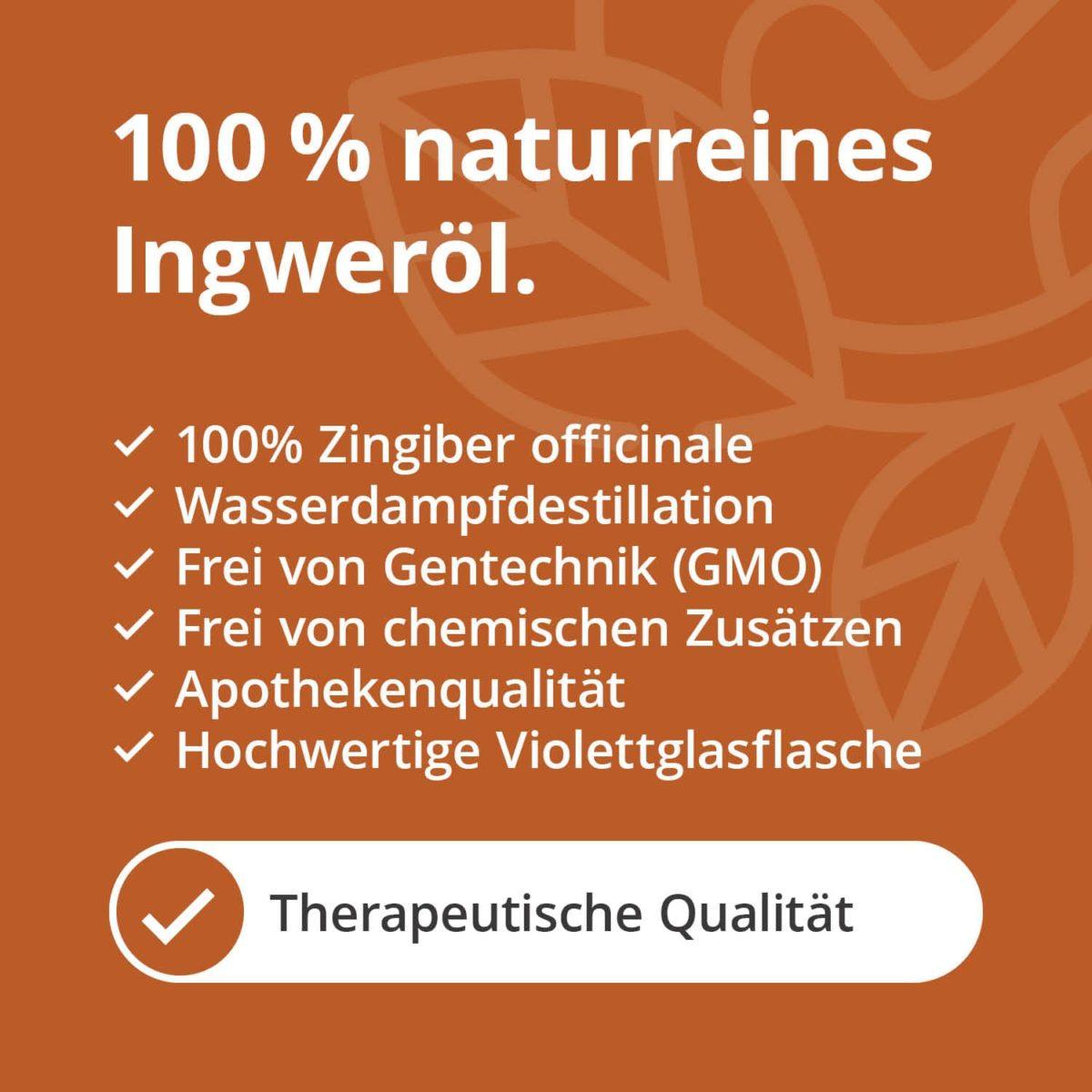 Casida natural pure ginger oil – 10 ml 17203776 PZN Apotheke ätherische Öle Diffuser Zingiber officinale5
