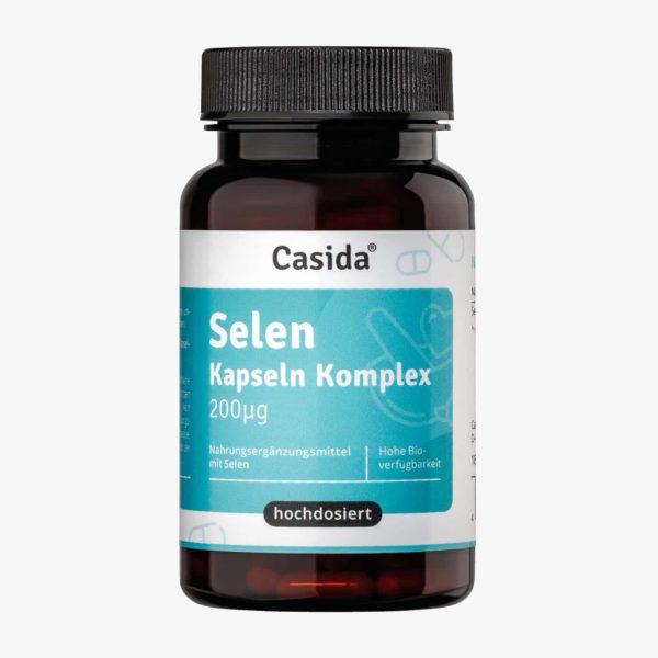 Casida Selen Kapseln Komplex - 180 Kapseln PZN 17203747 Apotheke Selenmethionin Natriumselenit organisch anorganisch