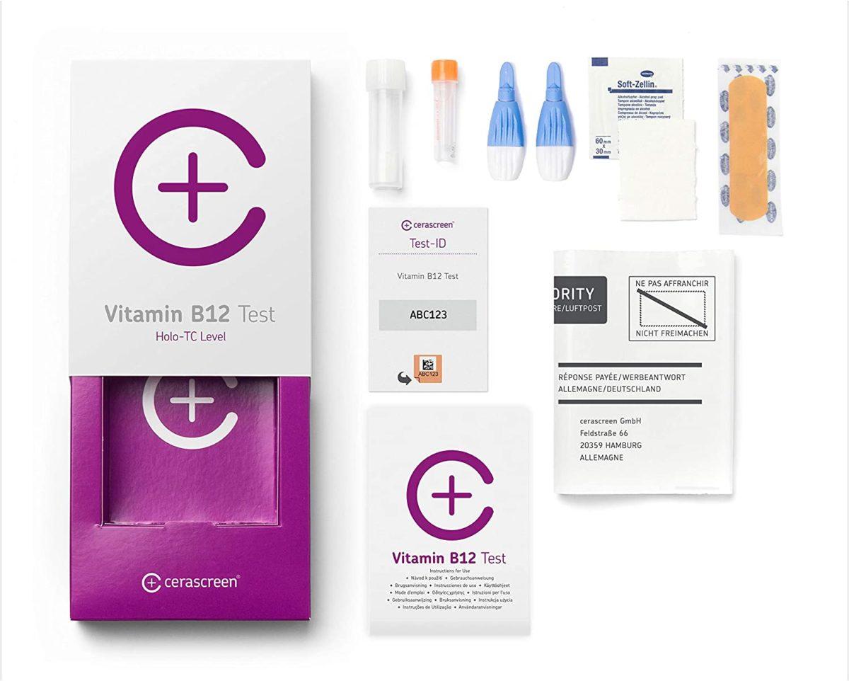 Casida Vitamin B12 Test für Zuhause PZN Apotheke 2